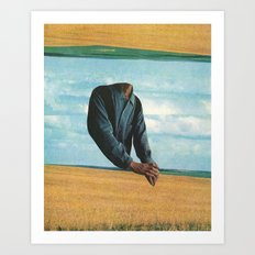 the good earth Art Print
