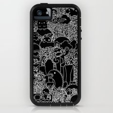 Oodles of Doodles of Singapore (Black) iPhone (5, 5s) Adventure Case
