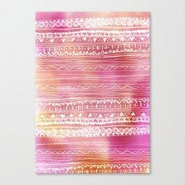 aztec spring  Canvas Print