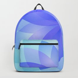 Abstract Lotus Flower G303 Backpack