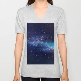 Floating Stars Unisex V-Neck