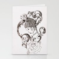 mirror Stationery Cards featuring Mirror by Bake