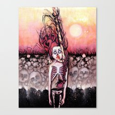 Partially Dreaming Canvas Print