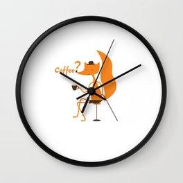 Coffee? Wall Clock