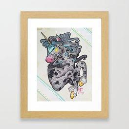 Heart Headed Horse Framed Art Print