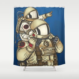 Astronauts Shower Curtain
