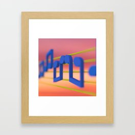 The Music Lovers Framed Art Print