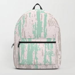 Green grey Colors Gradient pattern. pastel, modern, minimal, minimalist, line, stripes. Backpack