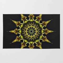Orchid Spin Rug