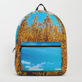 Fall Yellow Backpack