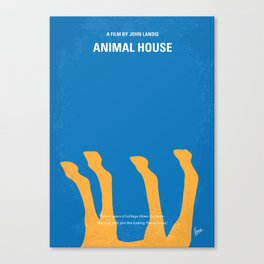 No230 My Animal House minimal movie poster Canvas Print
