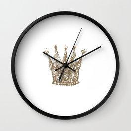 Royal Crown Wall Clock