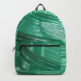 Green Mystery Abstract Backpack