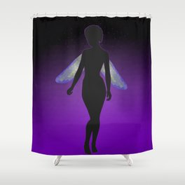 Darkness Faerie Shower Curtain