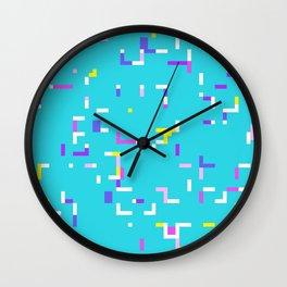 Colorful Labyrinth Wall Clock