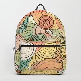 Layered circles Backpack