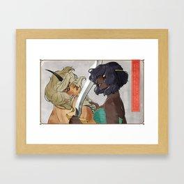 Damsels Framed Art Print