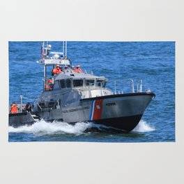 Coast Guard MLB Rug