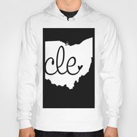 cleveland Hoodies featuring Love Cleveland by anastasia5