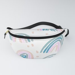 Rainbow Chroma Pastel Fanny Pack