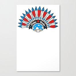 Tribal Patriot Canvas Print