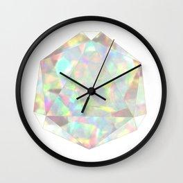 Milky White Opal Wall Clock