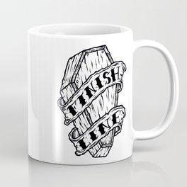 Finish Line. Coffee Mug