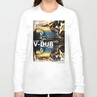 volkswagon Long Sleeve T-shirts featuring Bug Life by sysneye