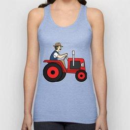 Tractor Farmer Gift Shirt Farmer Trecker Cool Unisex Tank Top