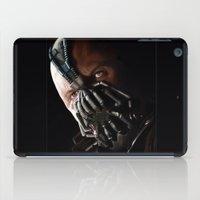 bane iPad Cases featuring Bane by Rav Chaggar