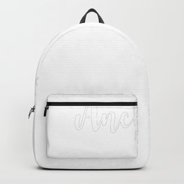 Religious Quote Anchored Hebrews 619 Backpack