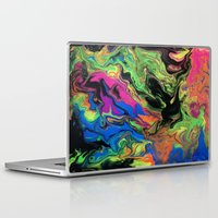 hydra Laptop & iPad Skins featuring Hydra Goo by SpaghettiLegz