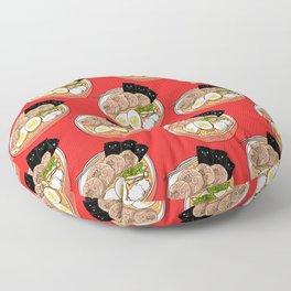 Ramen Pugs Floor Pillow