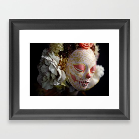 Morning Harvest Muertita Detail Framed Art Print