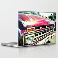 ford Laptop & iPad Skins featuring Ford Tough by Kim Ramage