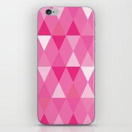 Harlequin Print Pinks iPhone Skin