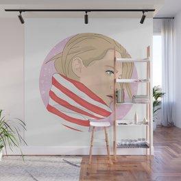 Kristen Stewart Galaxy Wall Mural