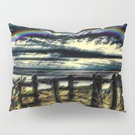 Last of the Summer Rainbows Landscape by Jeanpaul Ferro Pillow Sham