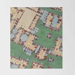 Cipher n. 14 Throw Blanket
