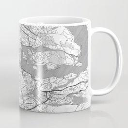 Stockholm Map Line Coffee Mug