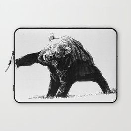 The Big Bad Bear by Chuchuligoff Laptop Sleeve