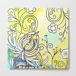 Lovely March Day Metal Print