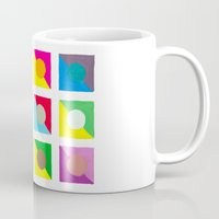 watercolour Mugs featuring WaterColour by VentureDesign