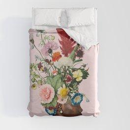 Flower Power- Pink Duvet Cover