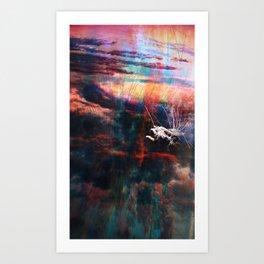 Garbager Art Print
