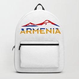 Armenia Ararat Hayastan flag #society6 #decor #buyart #artprint Backpack
