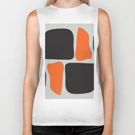 Abstract Graphic Spicy Puzzle Biker Tank