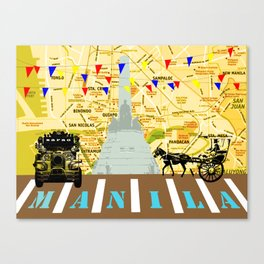 Locals Only - Manila Canvas Print