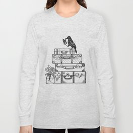 Stacked Suitcases Long Sleeve T-shirt