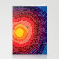tie dye Stationery Cards featuring Tie-Dye by Raven Jumpo